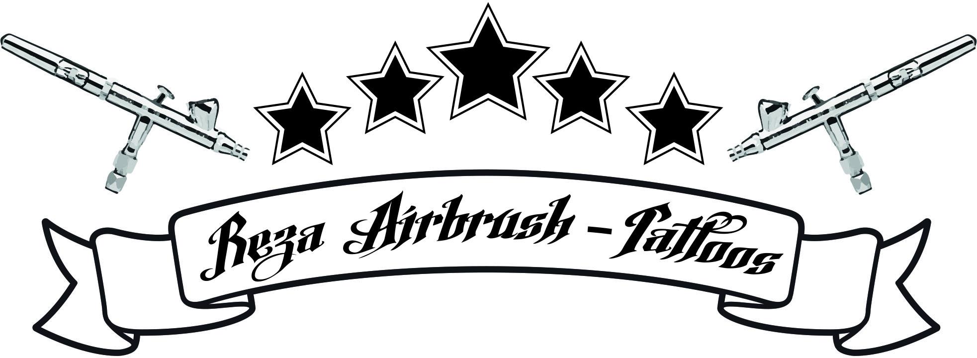 Rezas mobiles Airbrush Tattoo – Reza-Tattoos.de